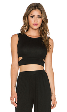 Clayton Miranda Top in Black