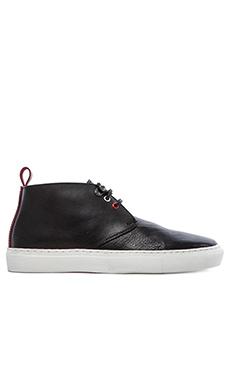 Common Cut Steve Chukka Sneaker en Noir