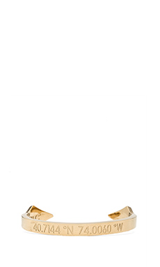 coordinates No H8 Meridian Bracelet in Gold
