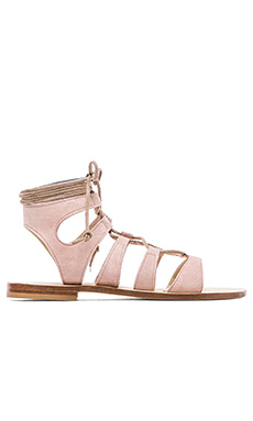 CoRNETTI Recommone Gladiator Sandals in Blush