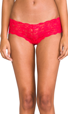 Cosabella Never Say Never Naughtie LR Hot Pant in Rossetto