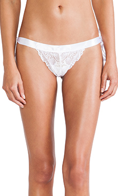 Cosabella Fetherston LR Thong in White
