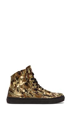 Creative Recreation Cesario X in Camo & Gold & Black