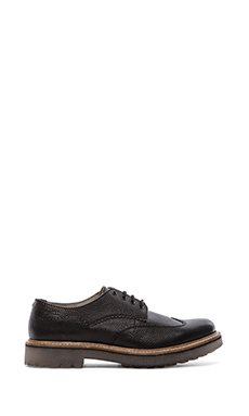 Clarks Monmart Limit in Black Interest Leather