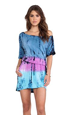 Chaser Summer Festival Mini Dress in Ombre