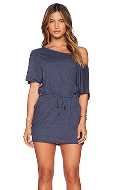 Chaser Off Shoulder Mini Dress in Scuba