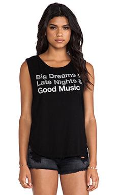 Chaser Big Dreams Tank in Black