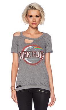 Chaser Pink Floyd Dark Side Tee in Streaky Grey