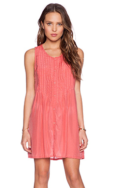 CP SHADES Lindsay Tunic Dress Wash in Carrot
