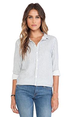 CP SHADES Carine Shirt in Blue & White Stripe