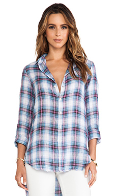 CP SHADES Carine Hi Low Button Down in Wash