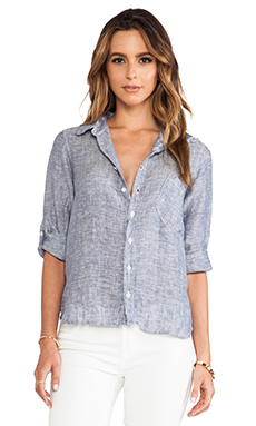 CP SHADES Jay Wash Button Down in Blue Chambray