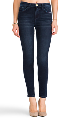 Current/Elliott The High Waist Ankle Skinny in Crosby