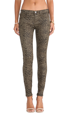 Current/Elliott The Ankle Skinny in Army Dirty Paws