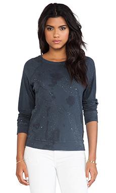 Current/Elliott The Letterman Sweatshirt in Galaxy