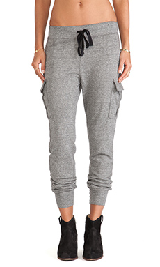 Current/Elliott The Surplus Vintage Sweatpant in Heather Grey