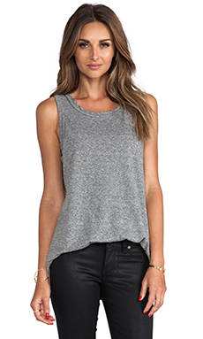 Current/Elliott The Muscle Tee in Heather Grey