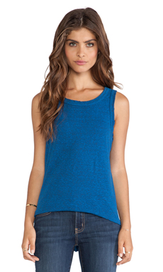 Current/Elliott The Muscle Tee in Reversal Blue