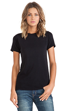 Current/Elliott The Slight Tee in Black Beauty