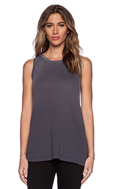 Current/Elliott The Muscle Tee in Grey