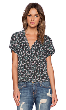 Current/Elliott The Emma Shirt in Juliet Floral
