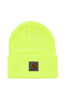 Carhartt WIP Watch Hat in Fluo Yellow