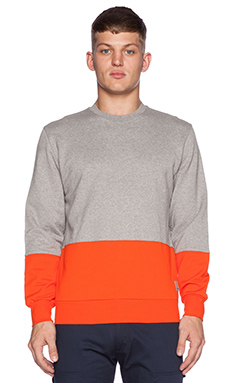 Carhartt WIP Stanley Sweatshirt in Grey Heather/Florida