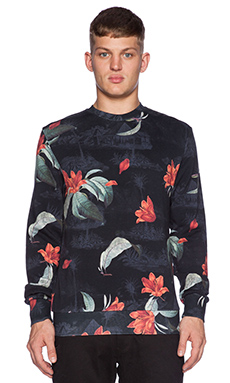 Carhartt WIP Tropic Sweatshirt in Tropic Print