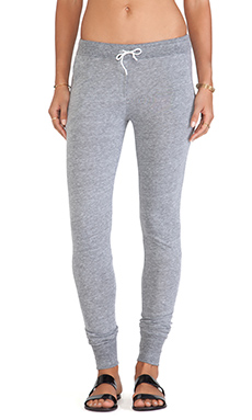 Daftbird Drawstring Pants in Heather Grey