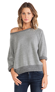 DAYDREAMER Charlie Sweatshirt in Heather Grey