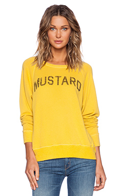 DAYDREAMER Mustard Sweatshirt in Mustard