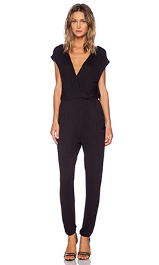 DAYDREAMER Audrey Jumpsuit in Black