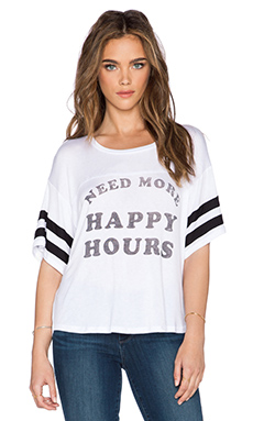 DAYDREAMER Happy Hours Tee in White
