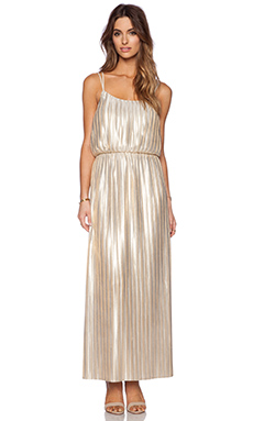 Deby Debo Emeraude Maxi Dress in Gold