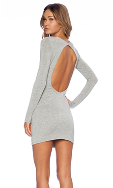 De Lacy Jordan Dress in Heather Grey