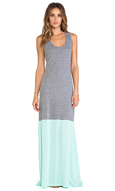 DeLacy Laurel Tank Maxi Dress in Grey