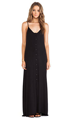 DeLacy Olympic Maxi Dress in Black