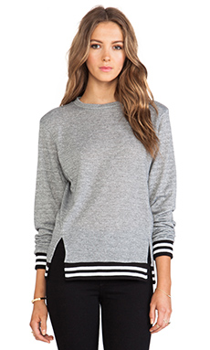 DeLacy Shane Sweatshirt in Grey