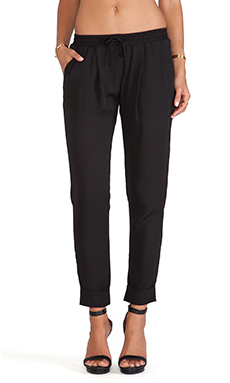 De Lacy Brady Pant in Black