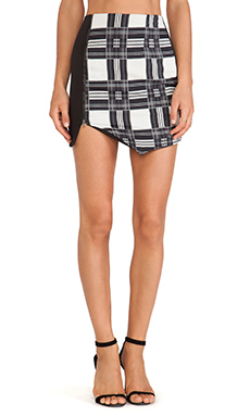 De Lacy Grayson Skirt in Plaid