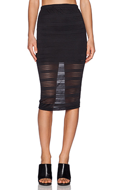 De Lacy Dakota Pencil Skirt in Black