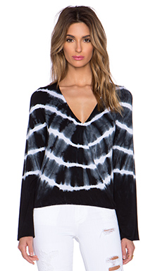 De Lacy x REVOLVE Adele Top in Black Tie Dye