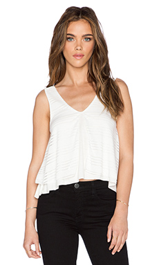 De Lacy Keely Tank in White