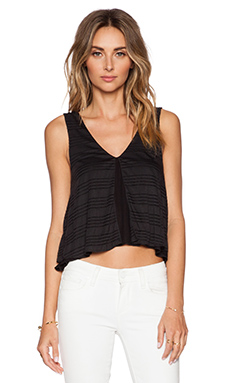 De Lacy Keely Tank in Black