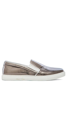 Del Toro Metallic Slip On in Silver