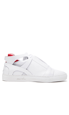Del Toro x Erik Bjerkesjo Cross Trainer Sneaker in White
