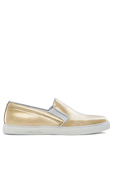 Del Toro Metallic Slip On in Gold
