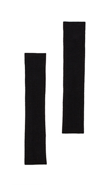 DemyLee Cashmere Arm Warmers in Black