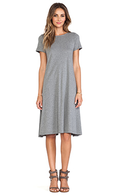 DemyLee Lori Dress in Dark Heather Grey