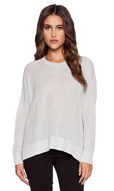 DemyLee Justine Pullover in Pale Grey